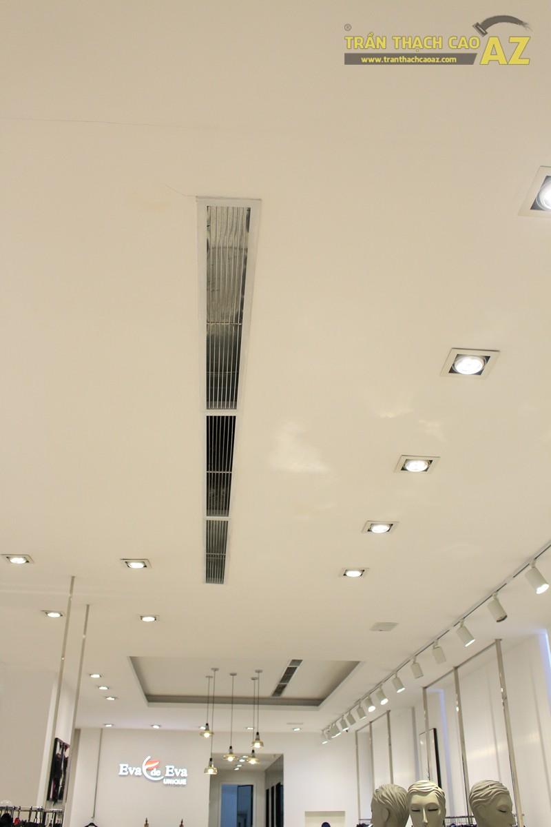 Eva De Eva Thái Hà bừng sáng với mẫu trần thạch cao shop đơn giản, hiện đại, nhẹ nhàng - 05
