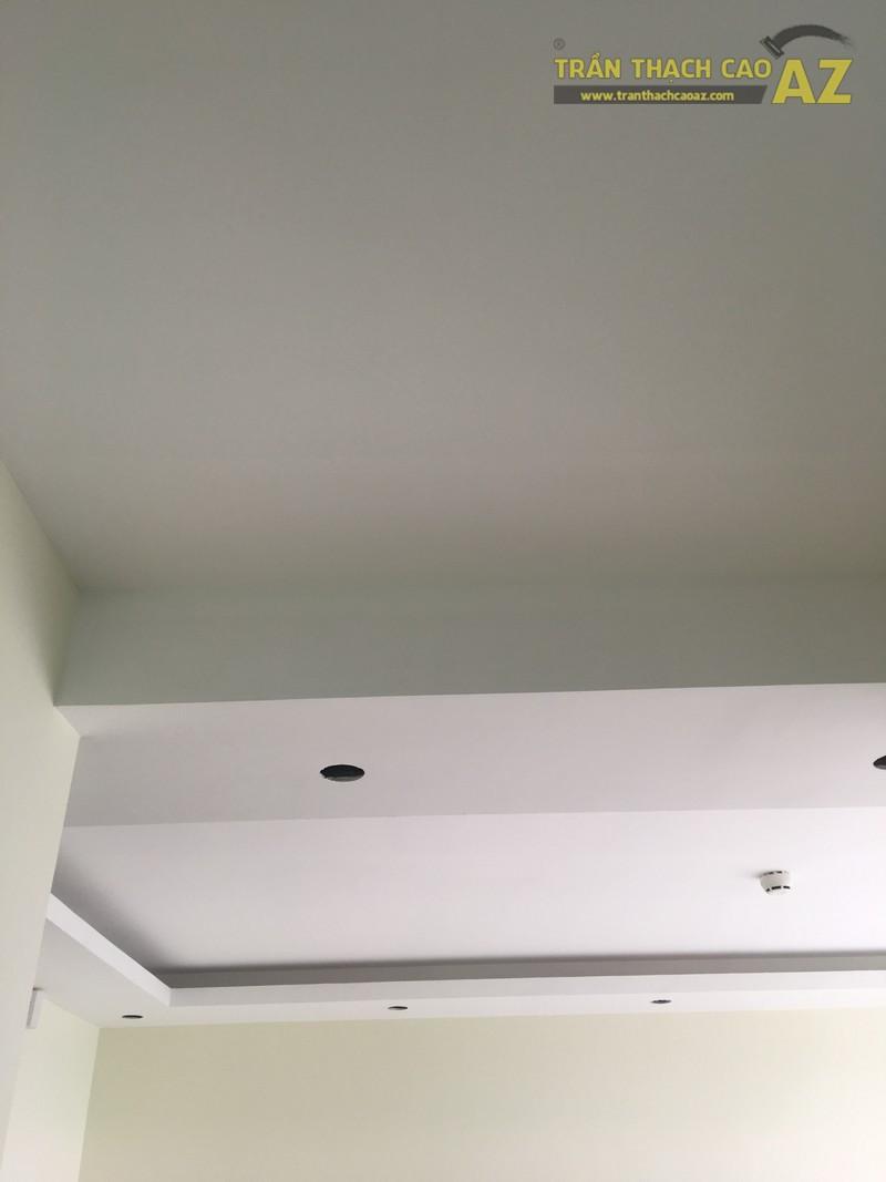 Hoàn thiện thi công mẫu trần thạch cao đơn giản nhà anh Khánh, KĐT Việt Hưng - 03