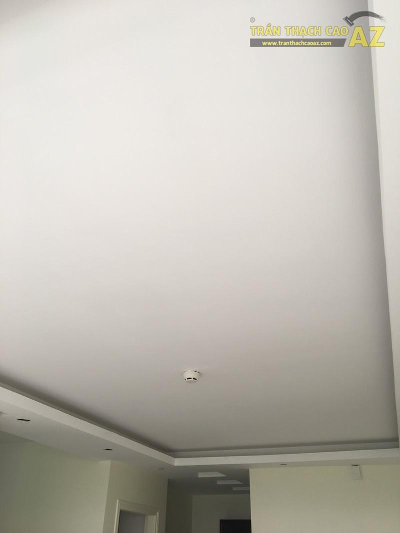 Hoàn thiện thi công mẫu trần thạch cao đơn giản nhà anh Khánh, KĐT Việt Hưng - 05