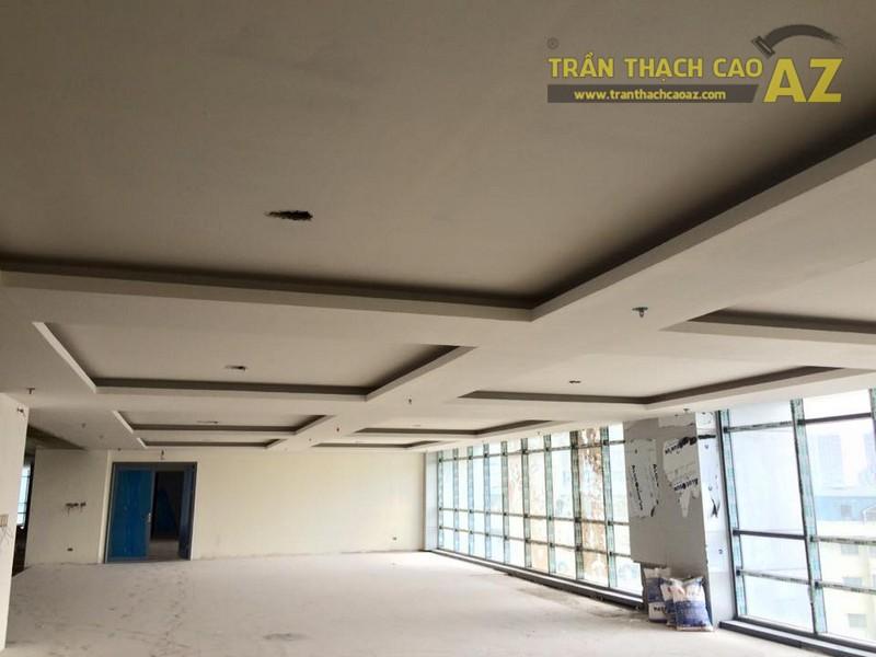 Hoàn thiện thi công trần thạch cao nhà hàng Tạ Hiền, số 1 Phan Văn Trường - 02