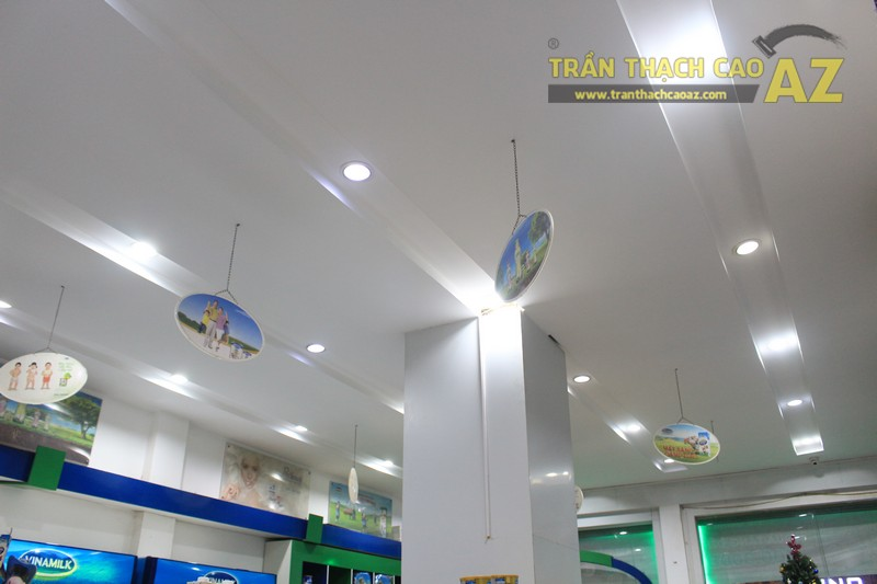 Hoàn thiện trần thạch cao cho cửa hàng giấc mơ sữa Việt 418 Xã Đàn, Đống Đa, Hà Nội