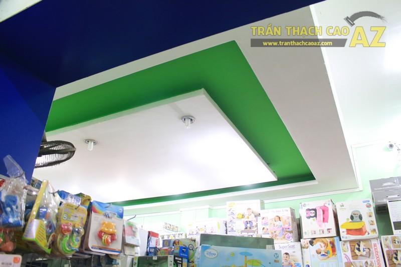 Khám phá nét tinh tế trong mẫu trần thạch cao của cửa hàng đồ chơi trẻ em 66 Thái Hà