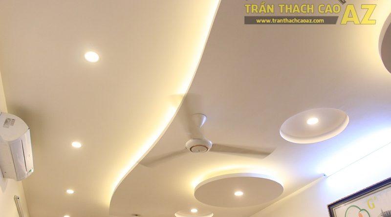 Không gian G'MEET nhẹ nhàng, hiện đại với mẫu trần thạch cao đẹp, 232 Thái Hà