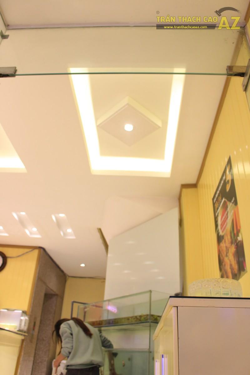Không gian Thai Deli ấm cúng, sang trọng nhờ mẫu trần thạch cao đẹp đẳng cấp - 06