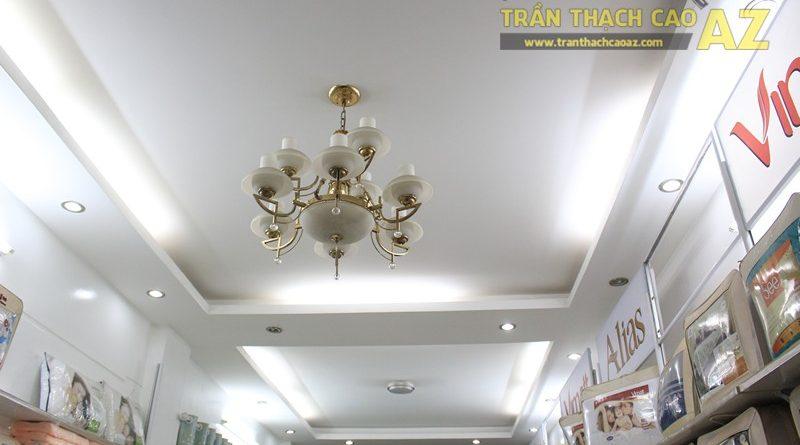 Mẫu trần thạch cao hiện đại kết hợp cổ điển của Chăn ga gối đệm ELAN, 244 Thái Hà
