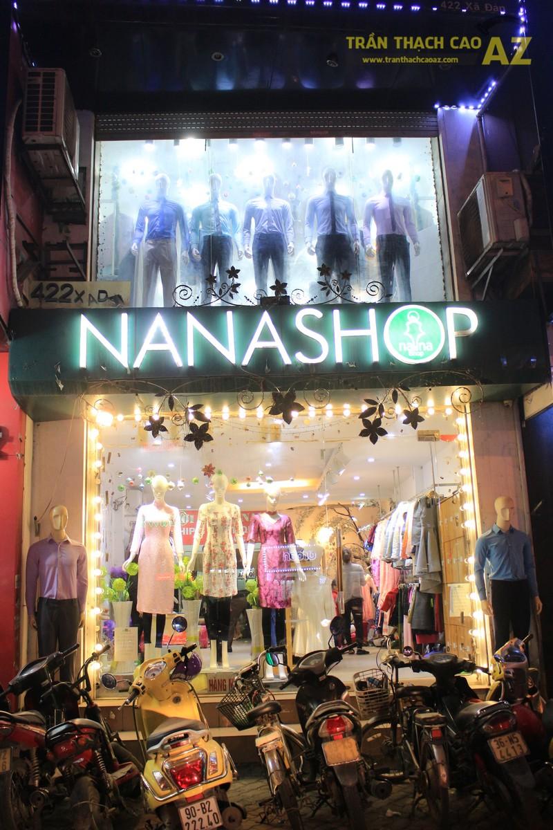 NANA shop đẹp lung linh với thiết kế trần thạch cao hiện đại, cực hút mắt - 05