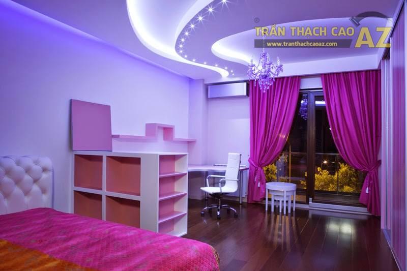 Hình khối ở trần thạch cao phòng ngủ trẻ em cần có sự đơn giản, dễ tưởng tượng và logic - 02