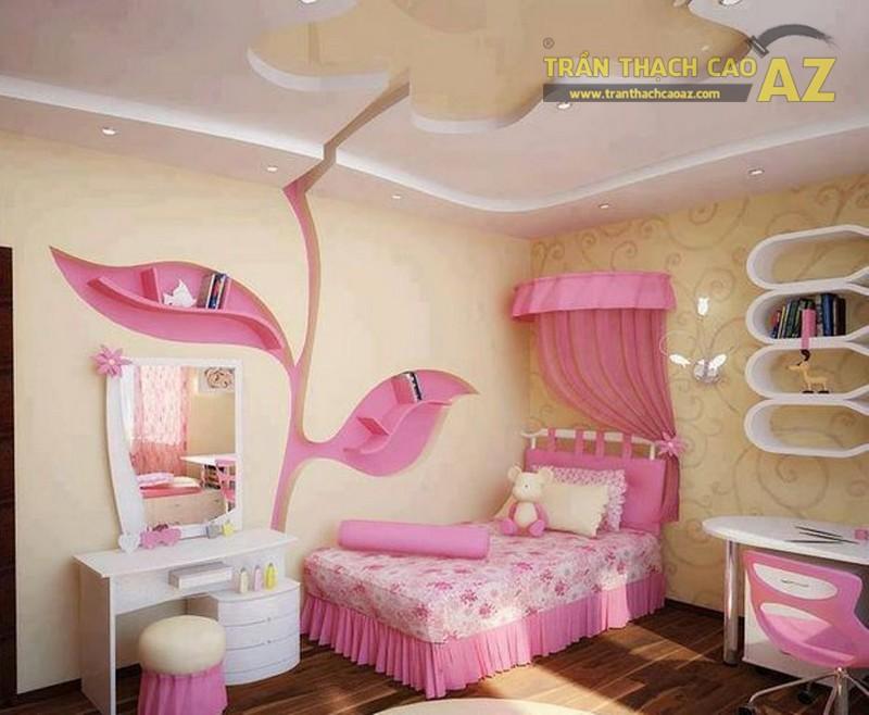 Hình khối ở trần thạch cao phòng ngủ trẻ em cần có sự đơn giản, dễ tưởng tượng và logic - 01