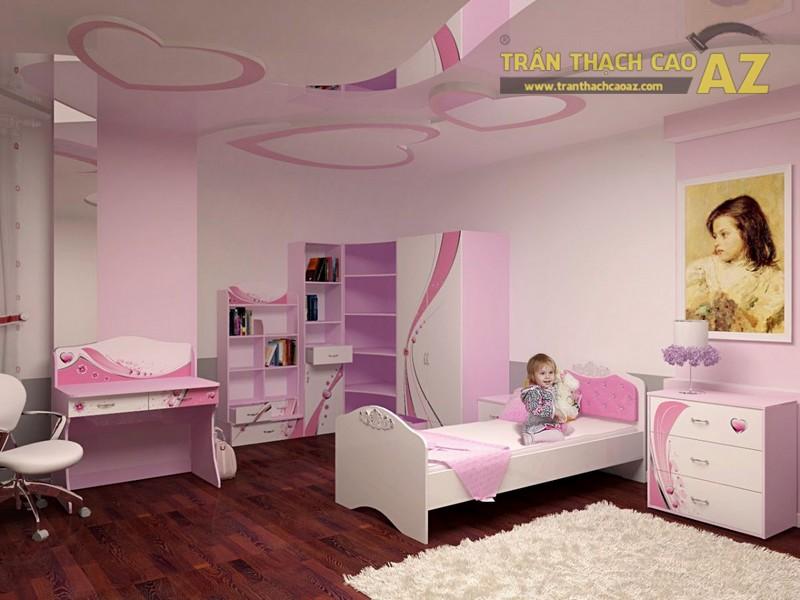 Hình khối ở trần thạch cao phòng ngủ trẻ em cần có sự đơn giản, dễ tưởng tượng và logic - 03