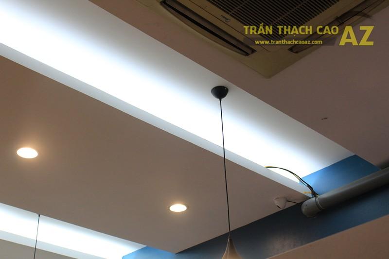 Tạo hình trần thạch cao ấn tượng kết hợp đèn trang trí cực độc đáo của TOCOTOCO - 06