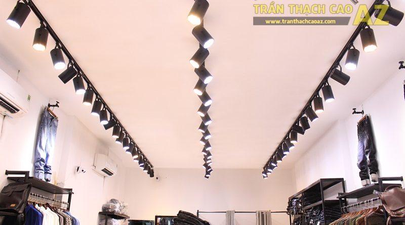 Tạo hình trần thạch cao shop nhỏ đẹp đơn giản, hiện đại của Độc, 226 Thái Hà