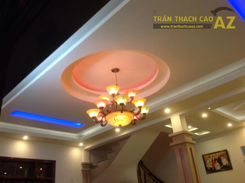 Thi công trần thạch cao cho nhà anh Thanh tại trị trấn Văn Giang, Hưng Yên