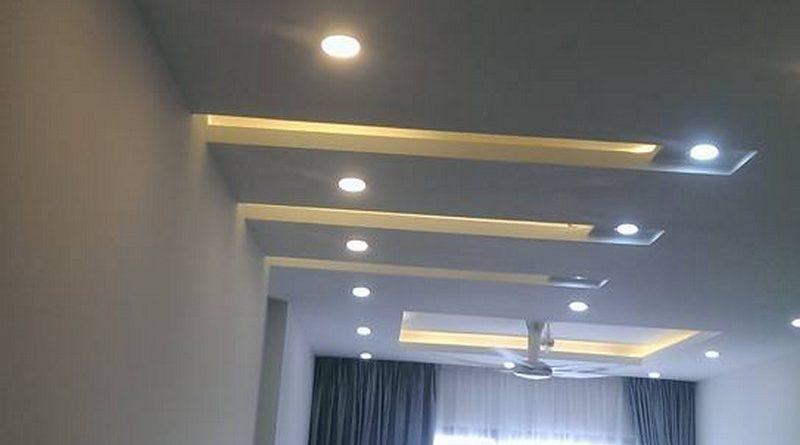 Thi công trần thạch cao căn hộ chung cư nhà anh Hòa tại Time City, Hai Bà Trưng, Hà Nội