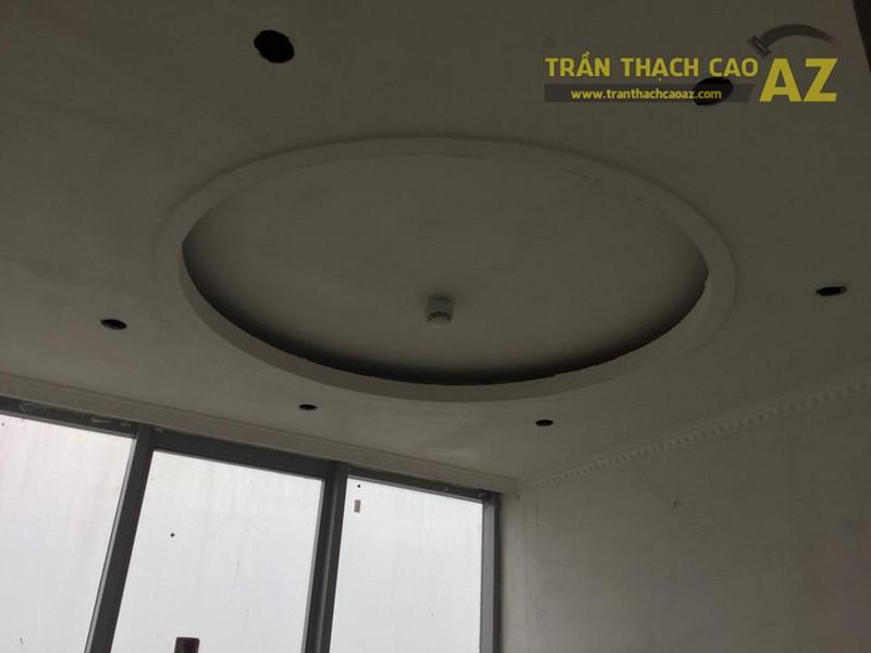 Thi công trần thạch cao cho nhà anh Việt tại khu đô thị Nam Thăng Long
