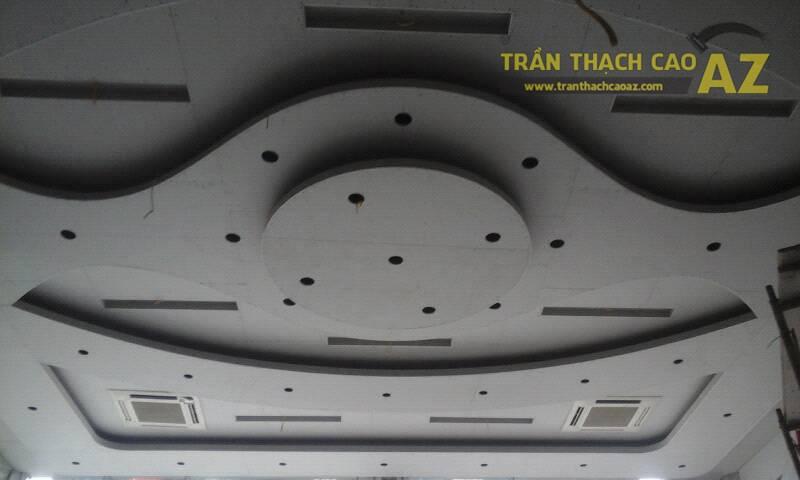 Thi công trần thạch cao cho showroom xe máy Lê Đức Thọ, Nam Từ Liêm, Hà Nội