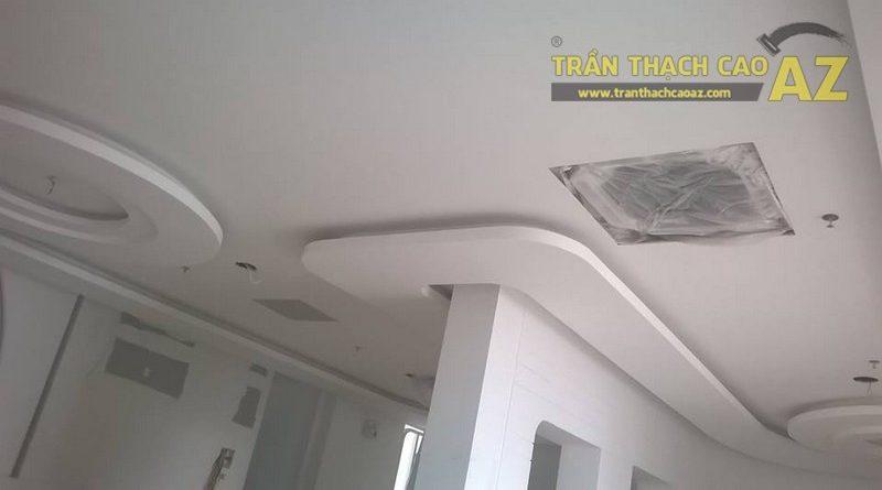 Thi công trần thạch cao cho trung tâm thẩm mỹ tại Thanh Xuân - Hà Nội