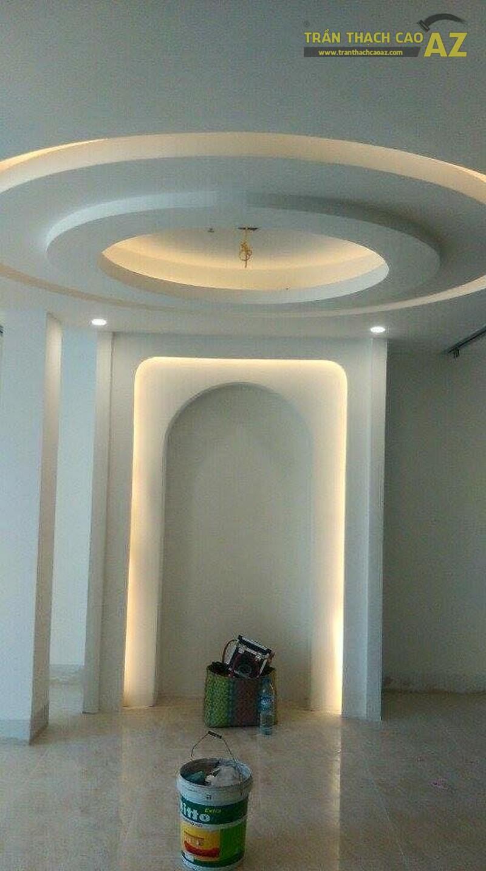 Thi công trần thạch cao cho trung tâm thẩm mỹ tại Trường Chinh, Hà Nội