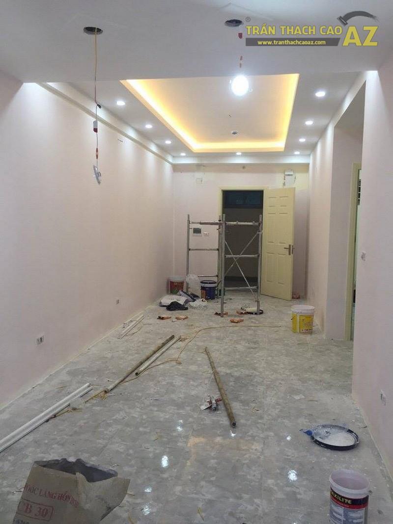 Thi công trần thạch cao chung cư thiết kế đẹp đơn giản của nhà anh Hải, tòa Linh Đàm HH2 - 02
