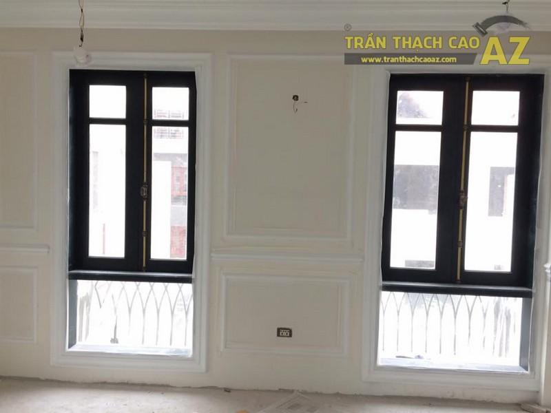 Hoàn thiện thi công trần vách thạch cao cho nhà hàng Bò tơ Tây Ninh Tài Sanh Hà Đông - 07