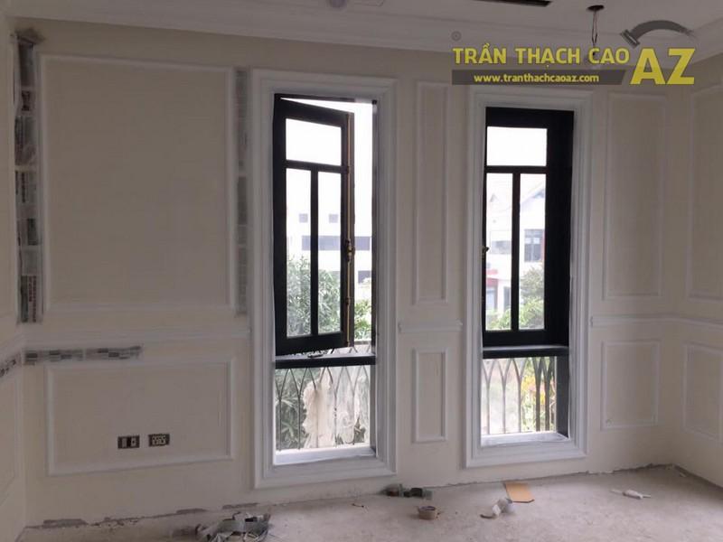 Hoàn thiện thi công trần vách thạch cao cho nhà hàng Bò tơ Tây Ninh Tài Sanh Hà Đông - 06