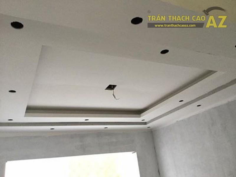 Thi công trần thạch cao cho nhà anh Hòa tại khu đô thị Văn Phú, Hà Đông, Hà Nội