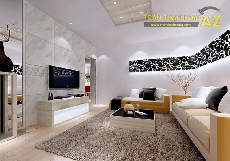 Thiết kế nội thất sang trọng, hiện đại với mẫu trần thạch cao đẹp ấn tượng - 01