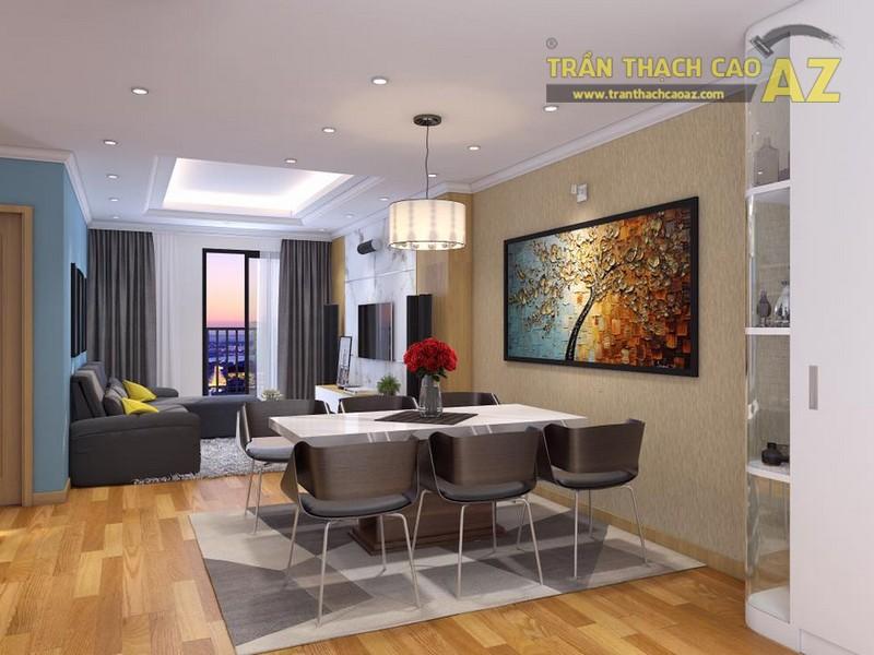 Thiết kế trần thạch cao cho căn hộ chung cư Park 2, Park Hill Time City