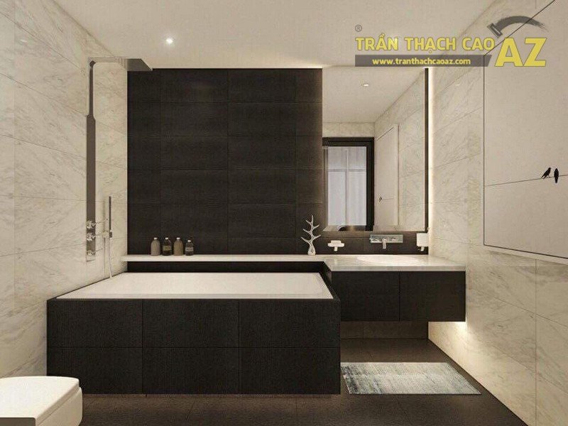 Thiết kế trần thạch cao cho căn hộ chung cư Vinhomes Phạm Hùng
