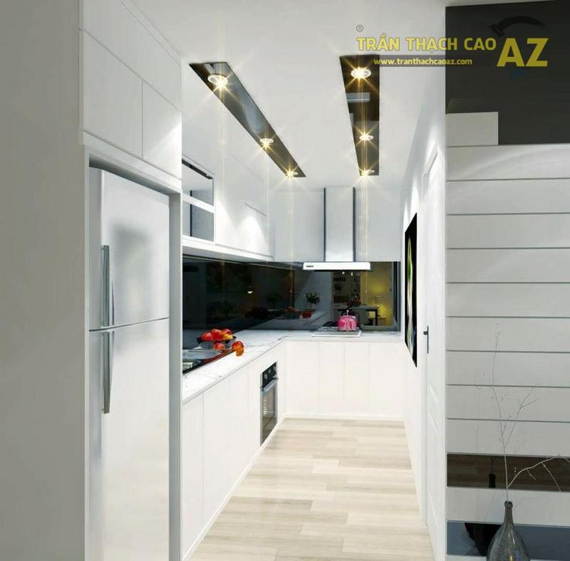 Thiết kế trần thạch cao cho căn hộ chung cư FLC Phạm Hùng