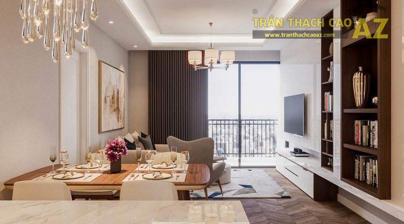 Thiết kế trần thạch cao cho căn hộ chung cư Park 1, Park Hill Time City