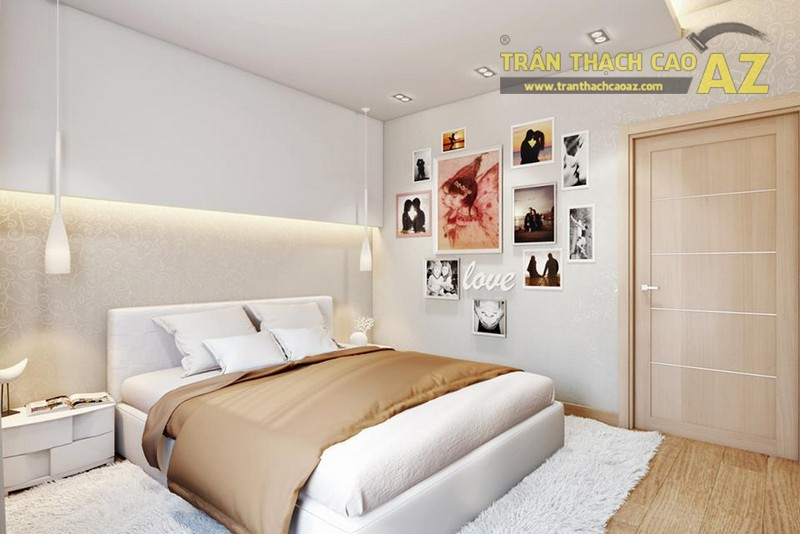 Thiết kế trần thạch cao cho căn hộ chung cư Royal City