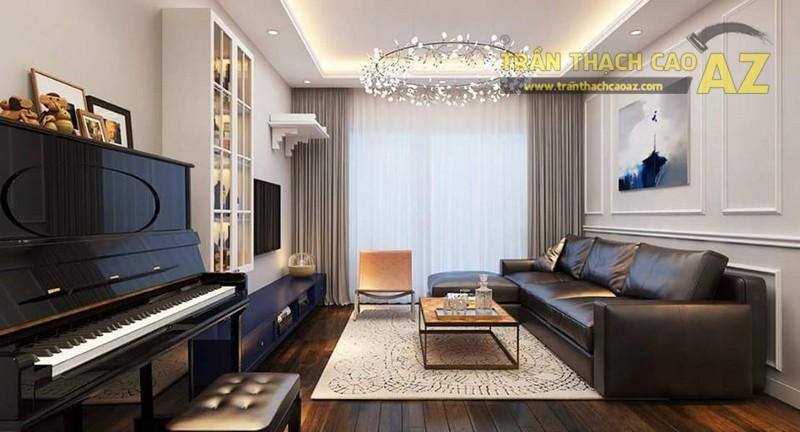 Thiết kế trần thạch cao cho căn hộ chung cư Time City