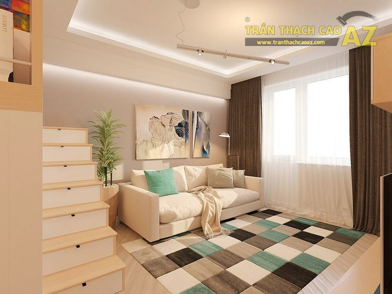 Thiết kế trần thạch cao cho biệt thự rẻ, đẹp