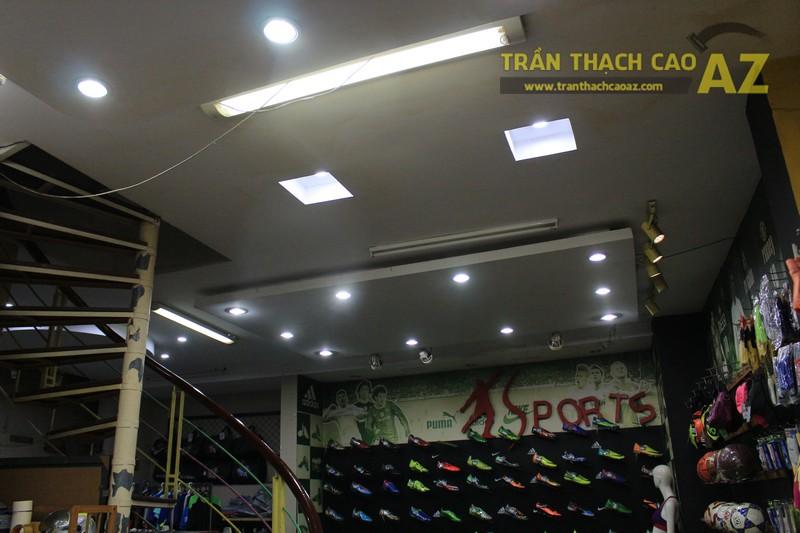Thiết kế trần thạch cao đẹp của shop Minh Phương Sport, số 302 Lê Trọng Tấn - 04