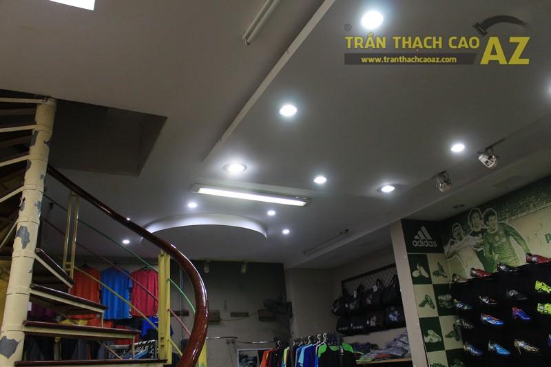 Thiết kế trần thạch cao đẹp của shop Minh Phương Sport, số 302 Lê Trọng Tấn - 05