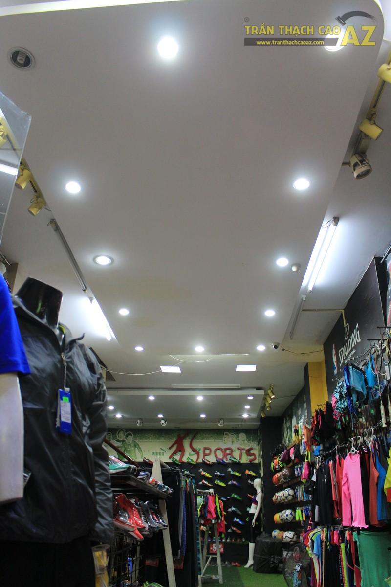 Thiết kế trần thạch cao đẹp của shop Minh Phương Sport, số 302 Lê Trọng Tấn - 01