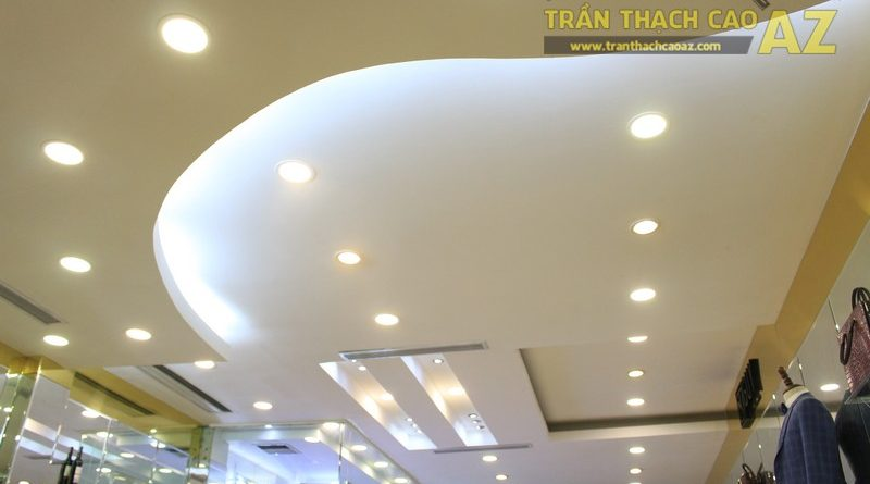 Thiết kế trần thạch cao đẹp sang trọng, ấn tượng của NT-GUY, số 488 Xã Đàn
