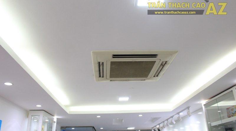 Thiết kế trần thạch cao màu trắng đẹp hiện đại, bắt mắt của AMES, số 30 Nam Đồng