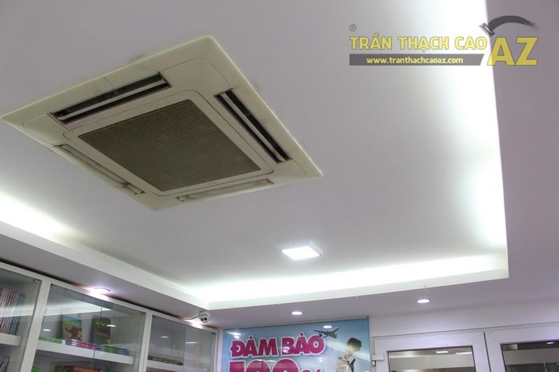 Thiết kế trần thạch cao màu trắng đẹp hiện đại, bắt mắt của AMES, số 30 Nam Đồng - 02