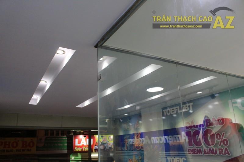Thiết kế trần thạch cao màu trắng đẹp hiện đại, bắt mắt của AMES, số 30 Nam Đồng - 05