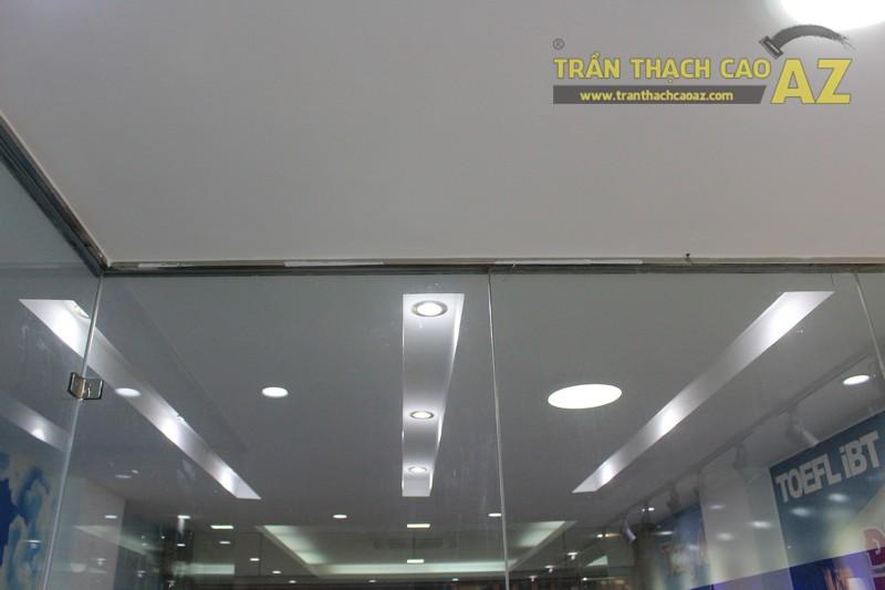Thiết kế trần thạch cao màu trắng đẹp hiện đại, bắt mắt của AMES, số 30 Nam Đồng - 04