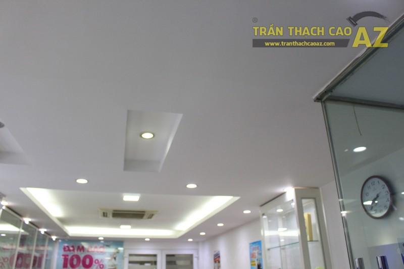 Thiết kế trần thạch cao màu trắng đẹp hiện đại, bắt mắt của AMES, số 30 Nam Đồng - 01
