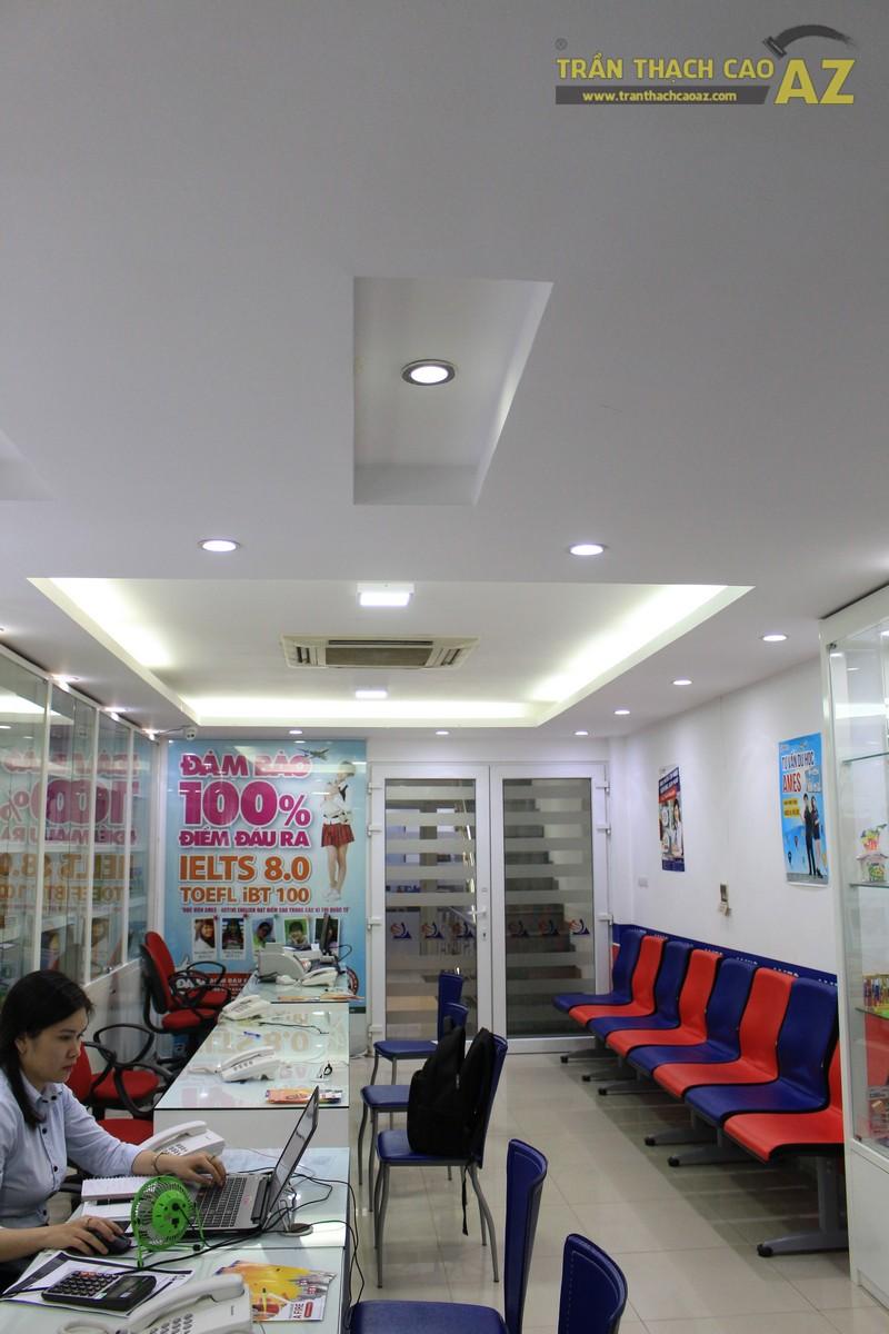 Thiết kế trần thạch cao màu trắng đẹp hiện đại, bắt mắt của AMES, số 30 Nam Đồng - 06