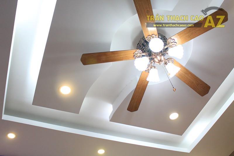 Thiết kế trần thạch cao shop nhỏ cực độc đáo của Gấu Bông Land, 346 Thái Hà - 02