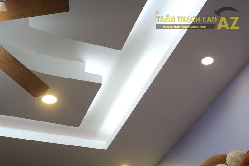 Thiết kế trần thạch cao shop nhỏ cực độc đáo của Gấu Bông Land, 346 Thái Hà - 04