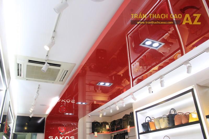 Thiết kế trần thạch cao shop nhỏ đơn giản, hiện đại của Sakos, số 158 Xã Đàn - 01