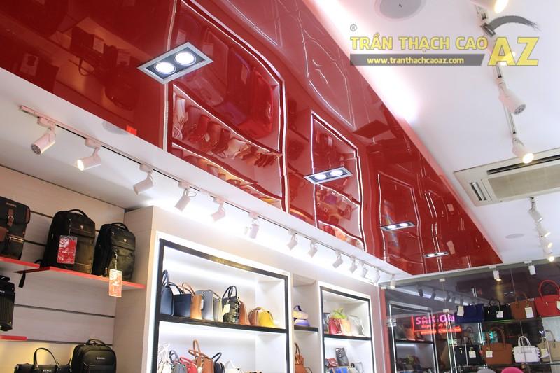 Thiết kế trần thạch cao shop nhỏ đơn giản, hiện đại của Sakos, số 158 Xã Đàn - 04