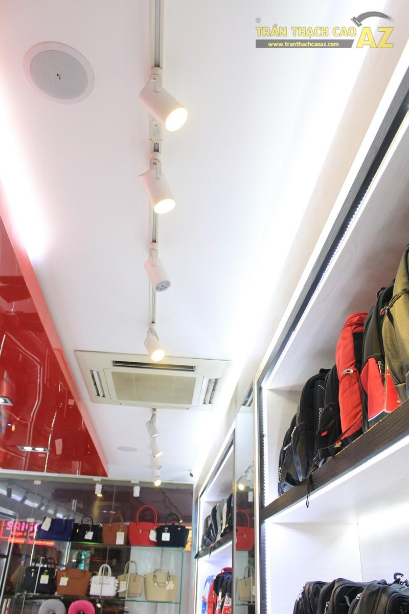 Thiết kế trần thạch cao shop nhỏ đơn giản, hiện đại của Sakos, số 158 Xã Đàn - 02