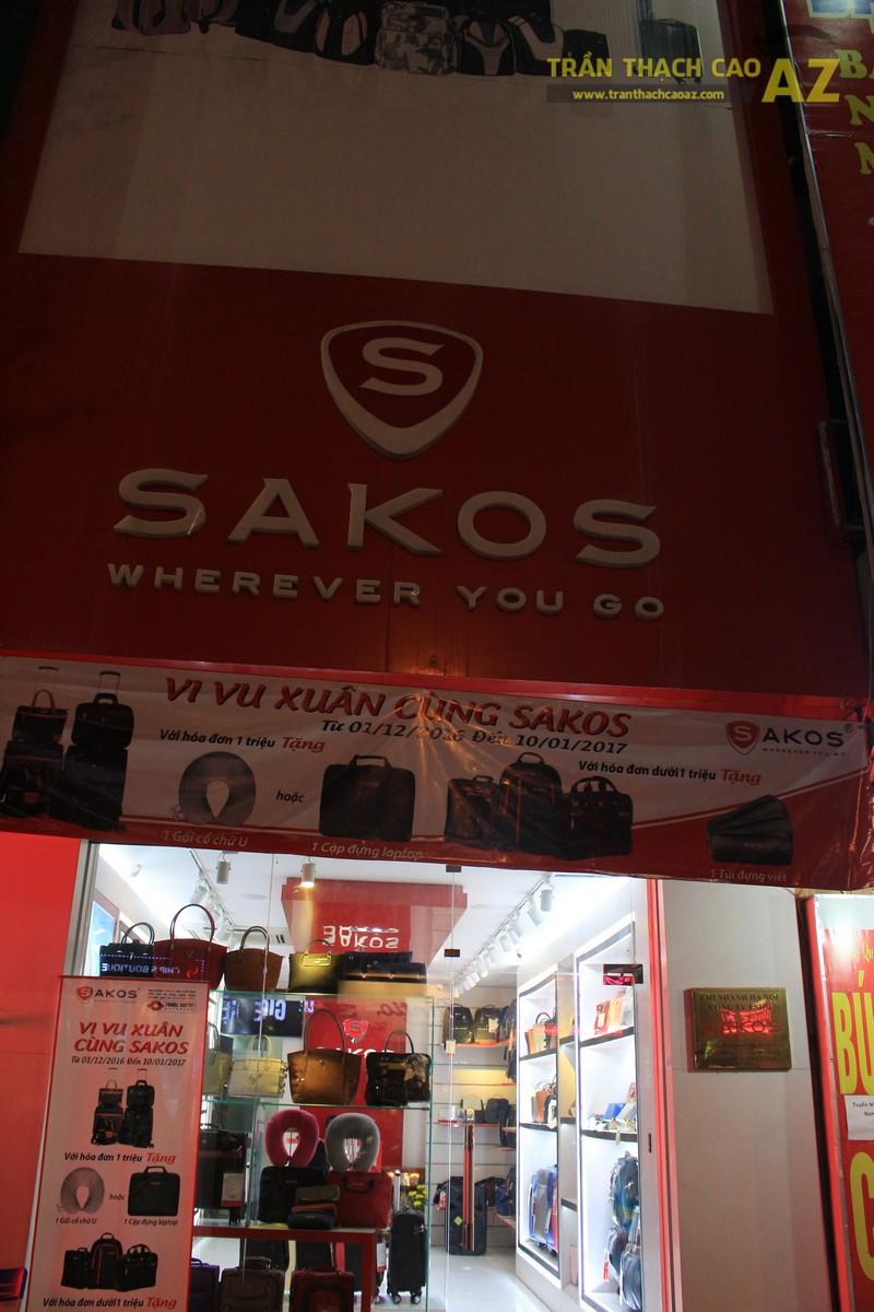 Thiết kế trần thạch cao shop nhỏ đơn giản, hiện đại của Sakos, số 158 Xã Đàn - 05