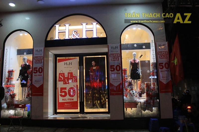 Thời trang H&H sang trọng với trần thạch cao hiện đại kết hợp cổ điển đẹp hút hồn - 07